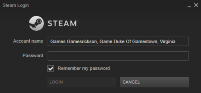 Teen steam user name password