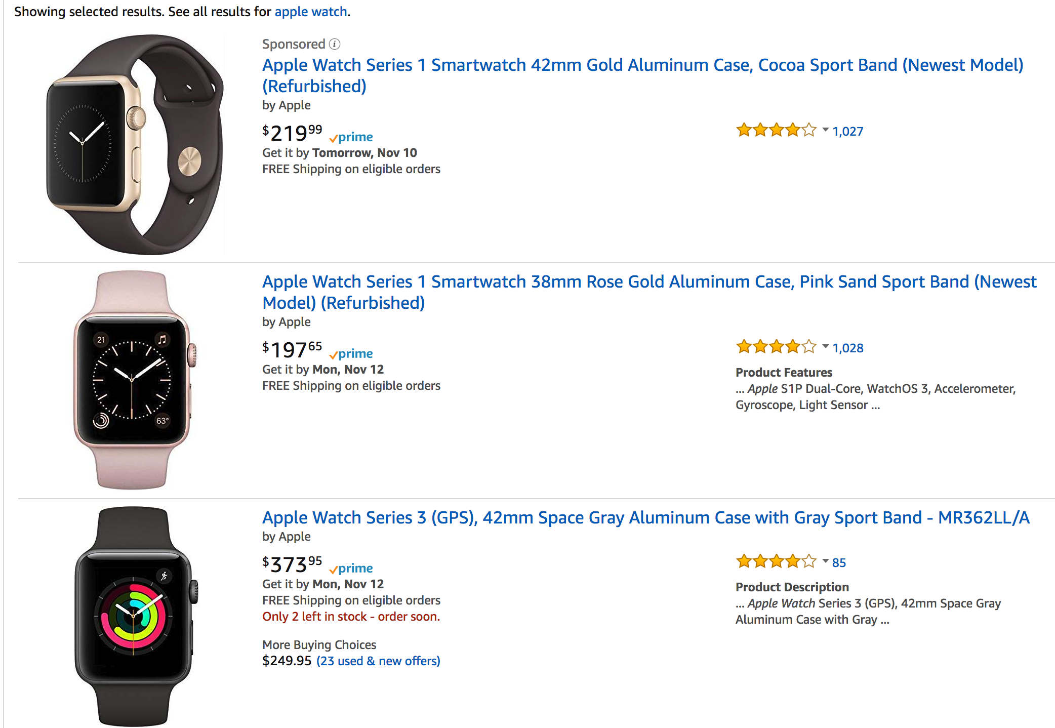 The Wild West Of Apple Products On Amazon Is Dead Gizmodo Uk Watch 2 Series 1 38mm Rose Gold Aluminum Pink Sport Band Iphone Xs 4 And Beats Headphones Not Homepod Though Probably Because Doesnt Want More Competition For Echo